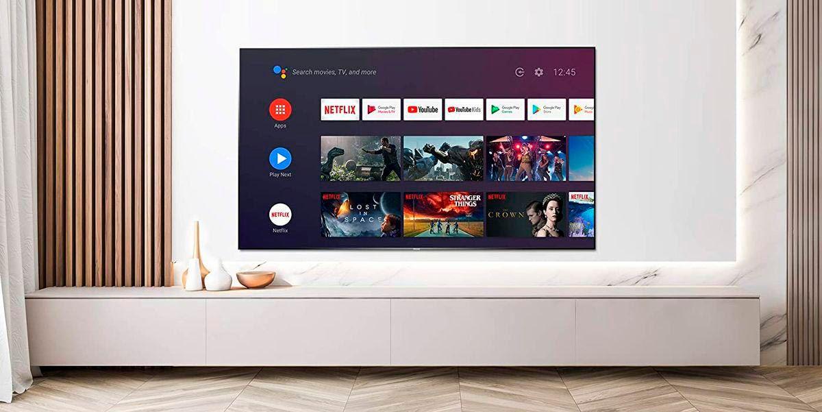 Netflix se ve negro en Android TV