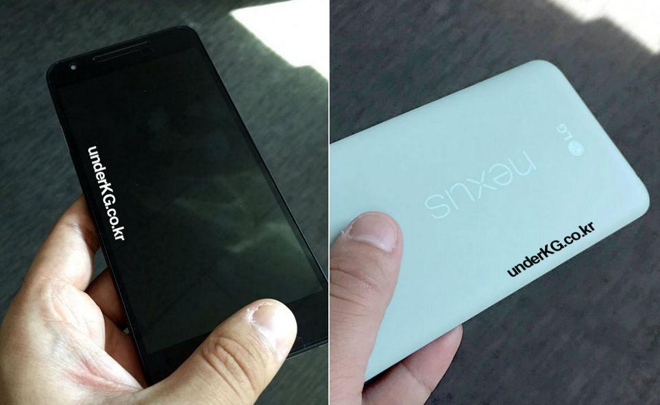 Nexus 5X 2015 en dos nuevas imágenes