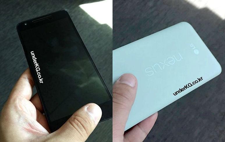 Imágenes del Nexus 5X 2015 en color menta
