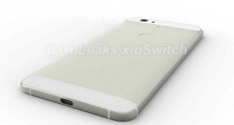 Nexus Huawei imágenes filtradas trasera