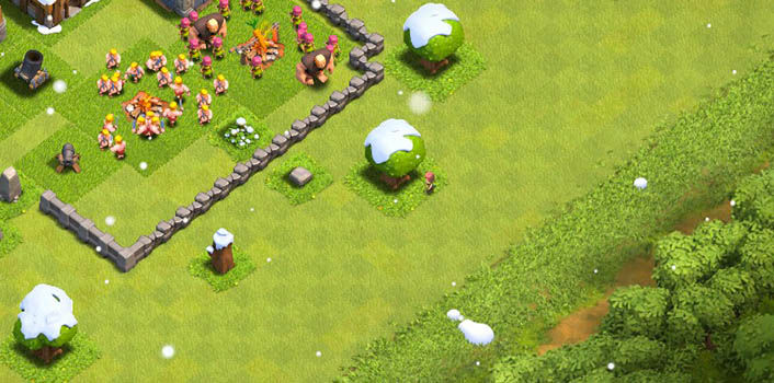 Nieve en Clash of Clans