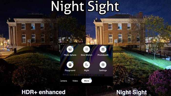 Night Sight de Google