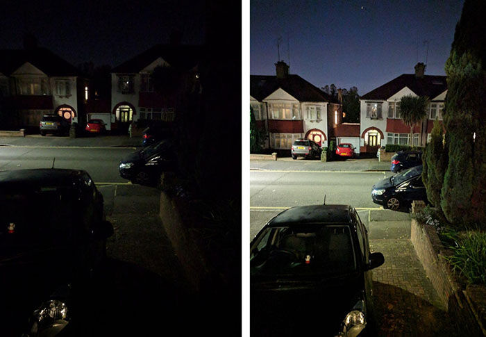Night Sight google camara