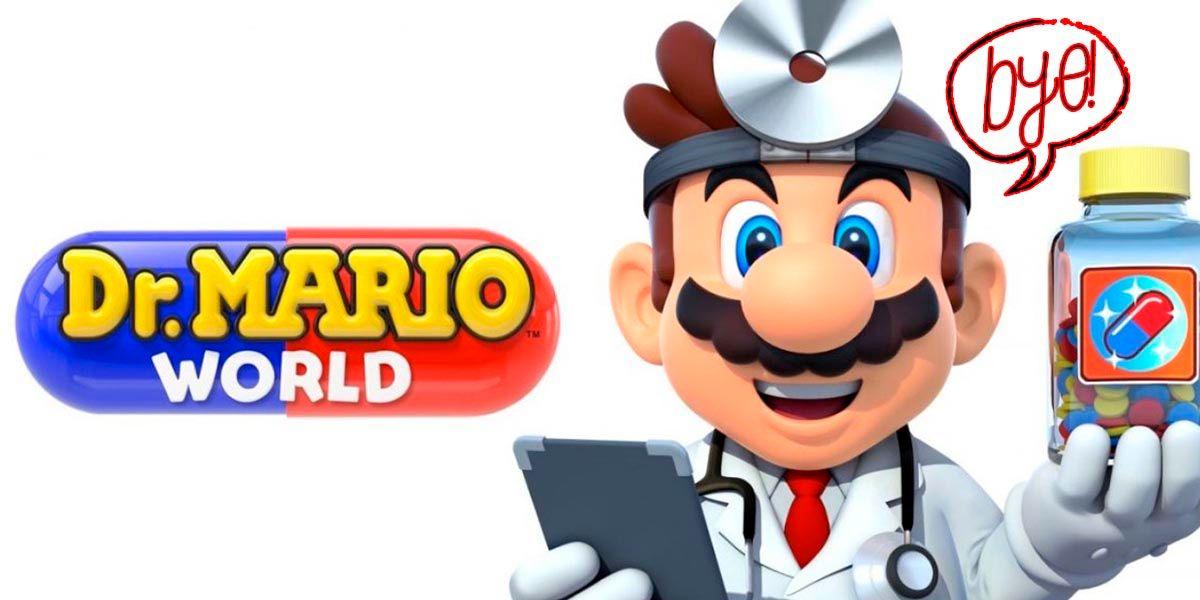 Nintendo cerrara Dr Mario World