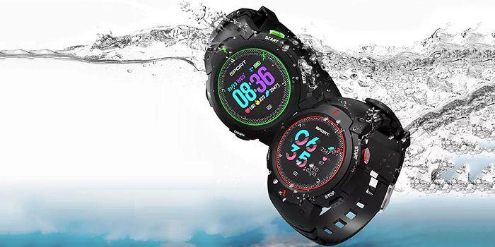 No.1 F13 smartwatch perfecto para nadar