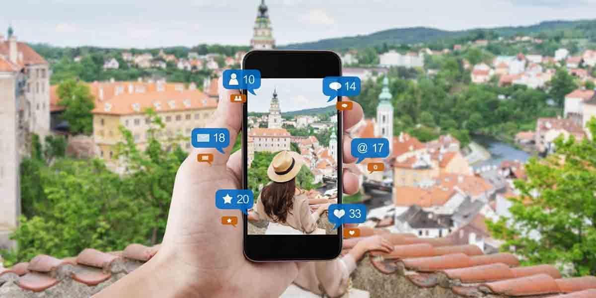 No compartir viajes en redes sociales