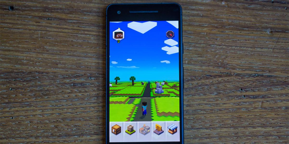 No puedo jugar a Minecraft Earth en Android soluciones