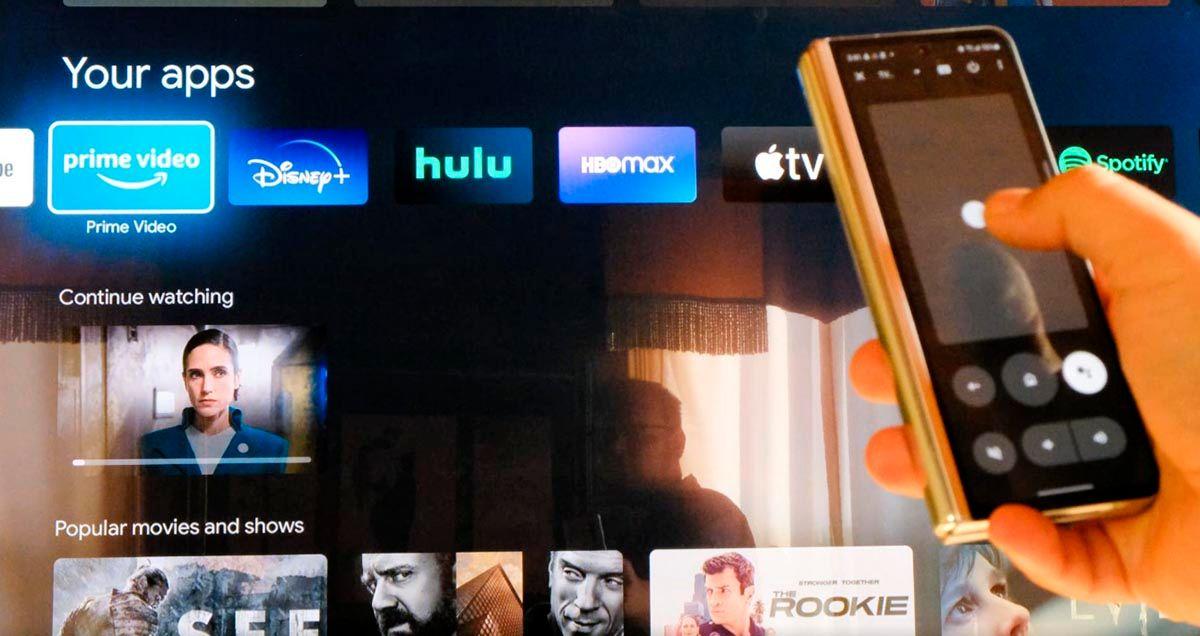 No puedo usar el mando de Google TV en Android