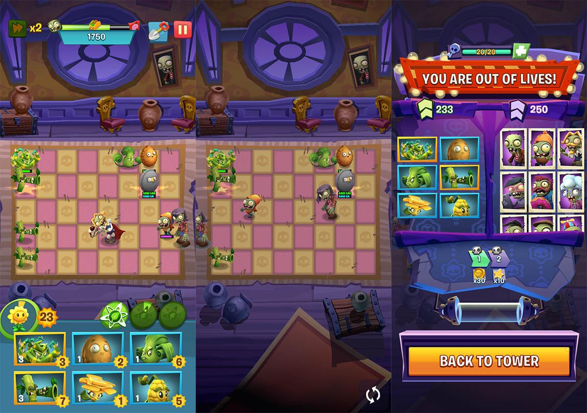 No reinicies la partida Plants vs Zombies 3
