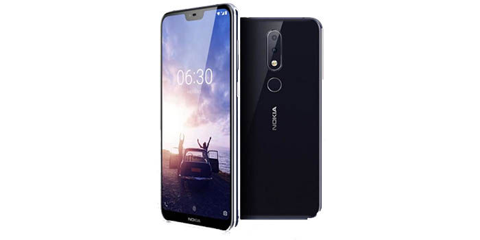 Nokia 6 1 Plus negro