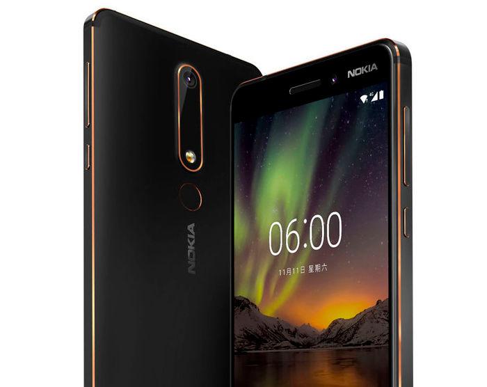 Este es el Nokia 6 versión 2018