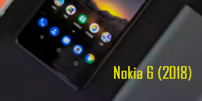 Nokia 6 2018 pantalla 16 9