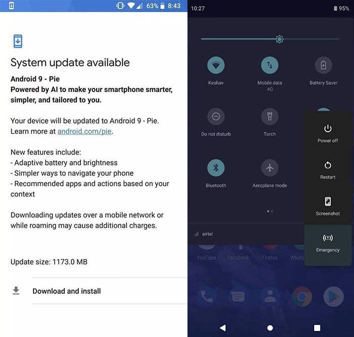 Nokia 7 Plus actualización a Android Pie