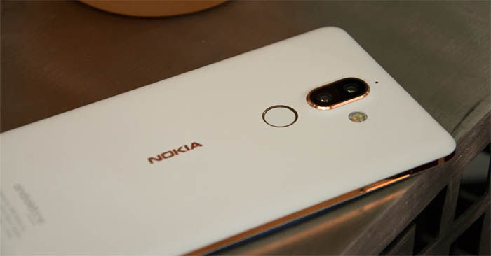 Nokia 7 Plus blanco