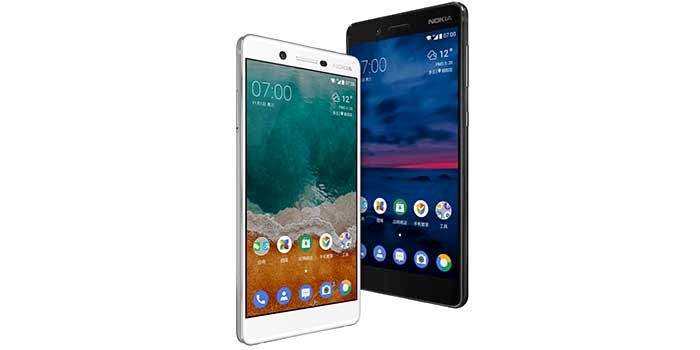 Nokia siete oficial blanco y negro