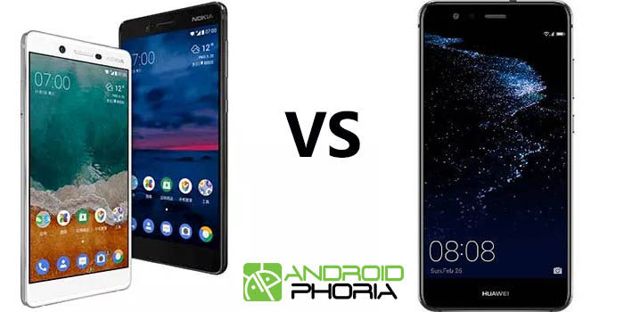 Nokia 7 vs Huawei Mate A1