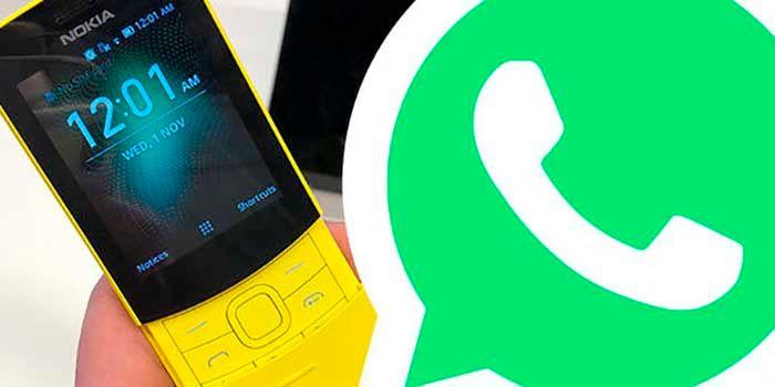 Nokia 8110 tendra WhatsApp