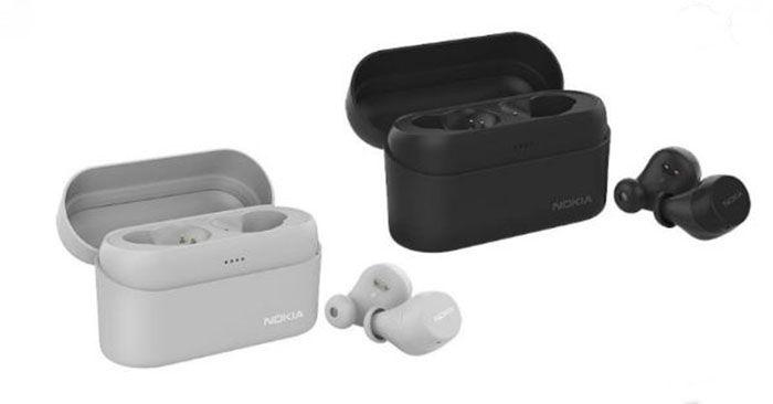 Nokia Power Earbuds gris y negro