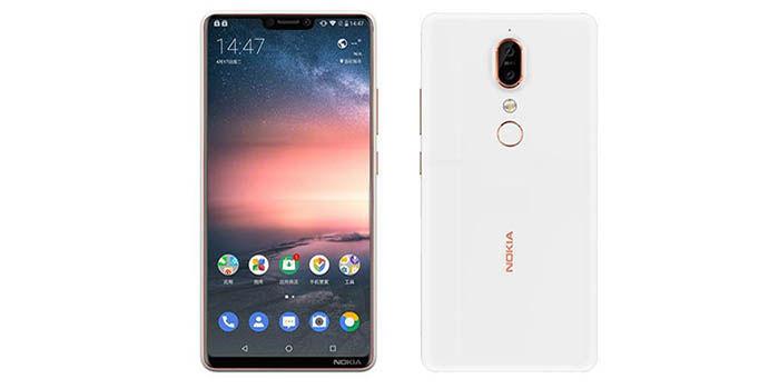 Nokia X6 blanco