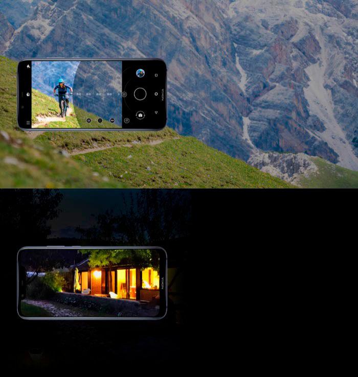 Nokia X7 camara