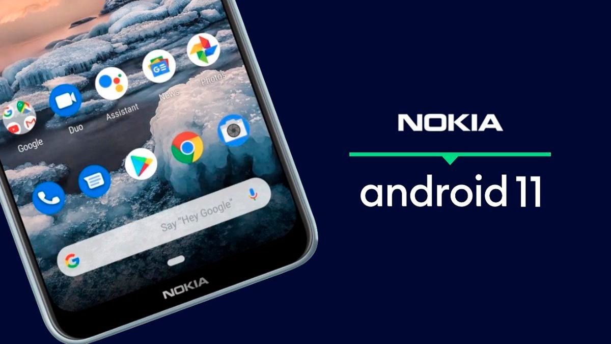 Nokia actualizacion Android 11 fechas