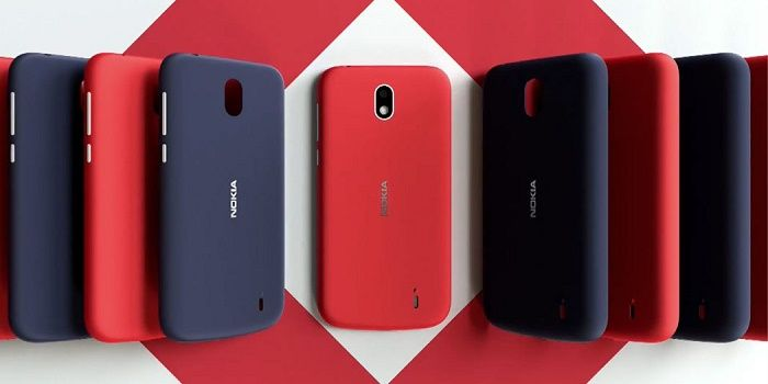 Nokia 1 diseño