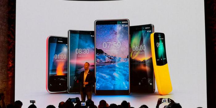 Nokia en el MWC 2018 todos sus moviles