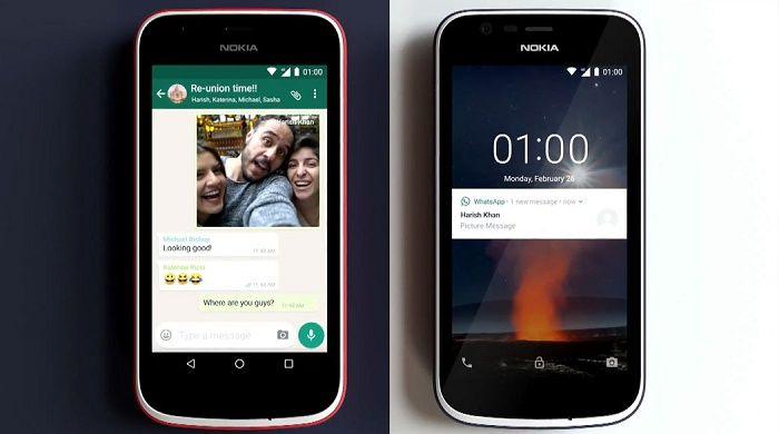 Nokia 1 especificaciones
