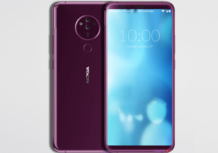 Nokia 10 de 2018 imagen completa