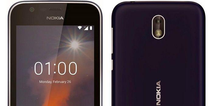 Nokia 1 primer Android Go del mercado