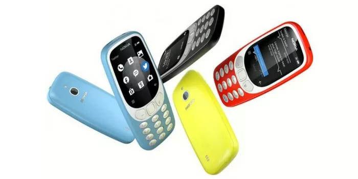 Nokias 3310 4G colores