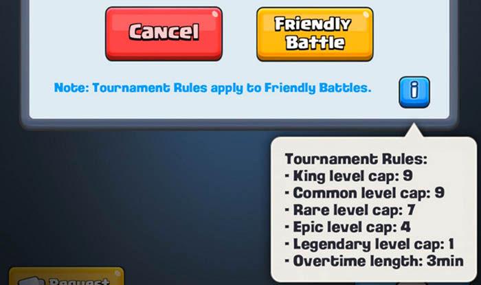 Normas torneo Clash Royale
