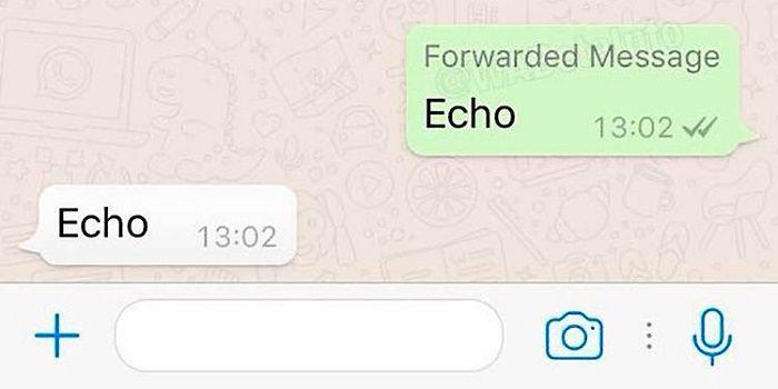 Notificación envío de mensajes en WhatsApp