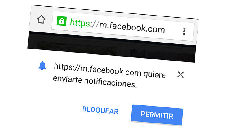 Notificaciones de Facebook en Android