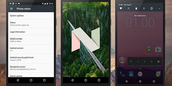 Nougat Nexus 4