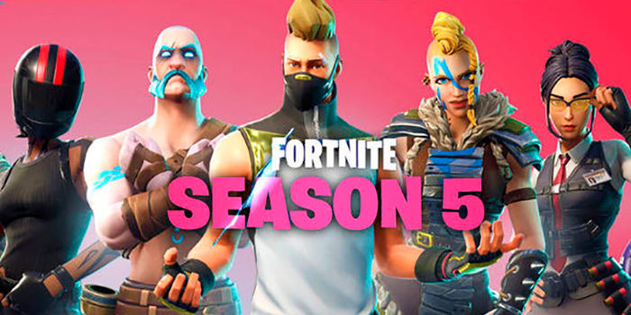 Todas las novedades de la temporada 5 de fortnite for Fortnite temporada 5 sala