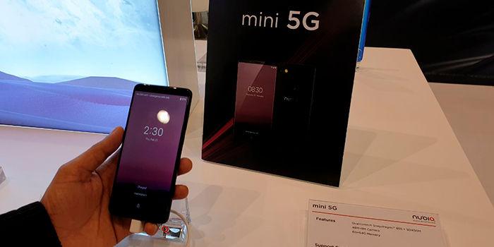 Nubia Mini 5G especificaciones y caracteristicas