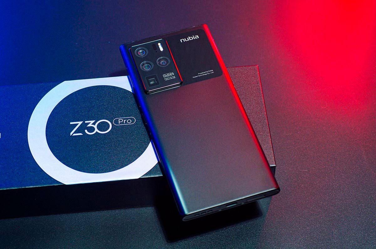 Nubia Z30 Pro bateria carga rapida