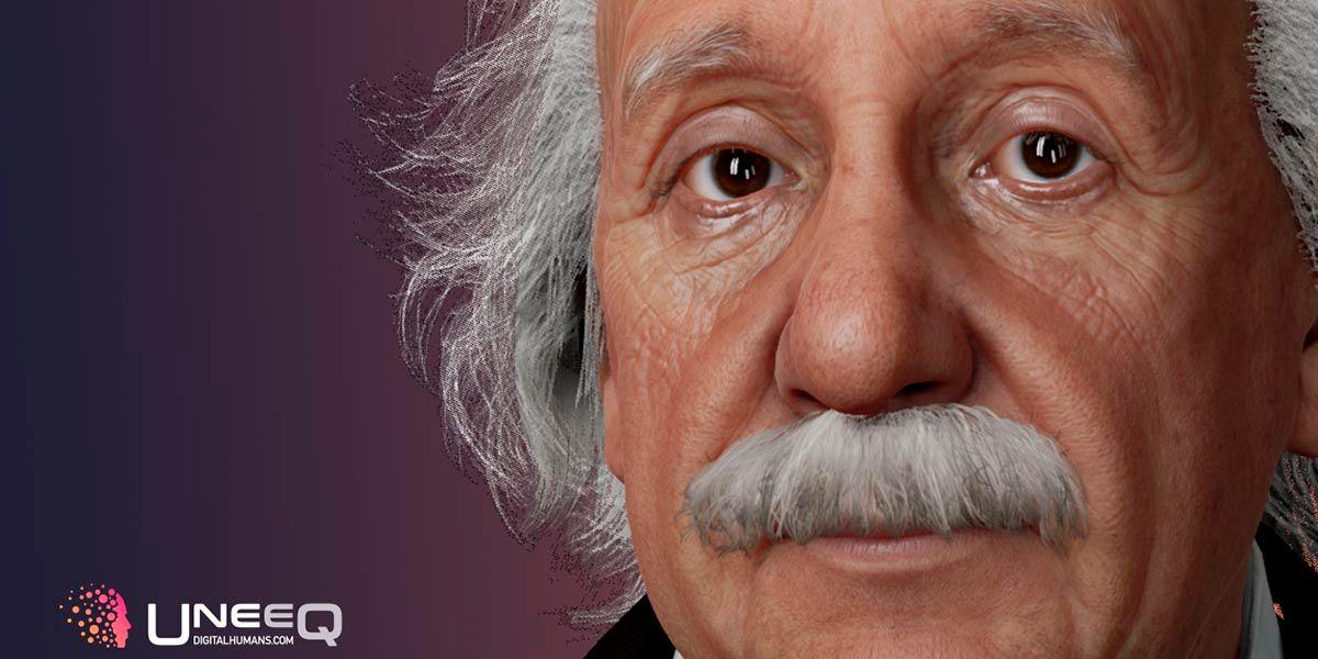 Nueva IA permite habar con Einstein