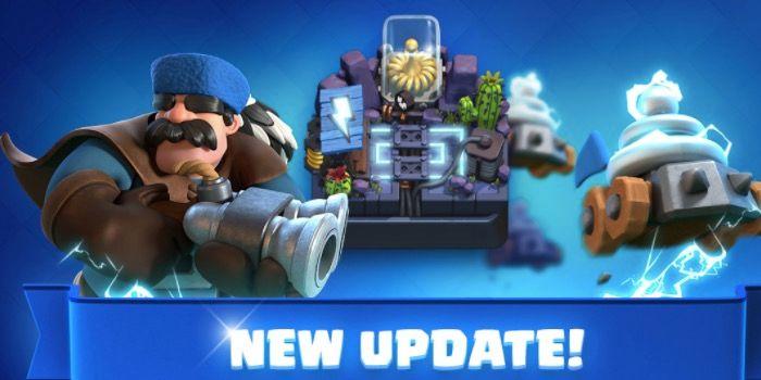 Nueva actualización de Clash Royale