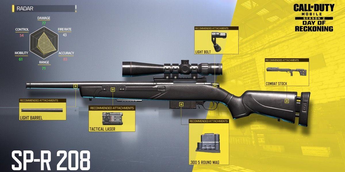 Nuevas armas Cod Mobile