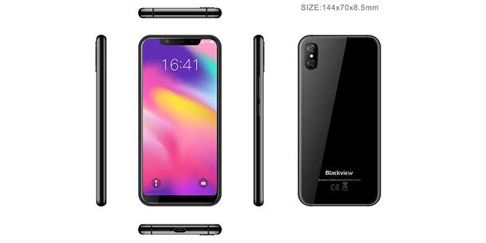 Nuevo Blackview copia iPhone X