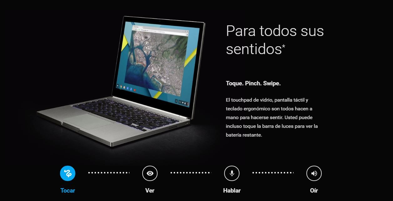 Nuevo Chromebook Pixel 2015
