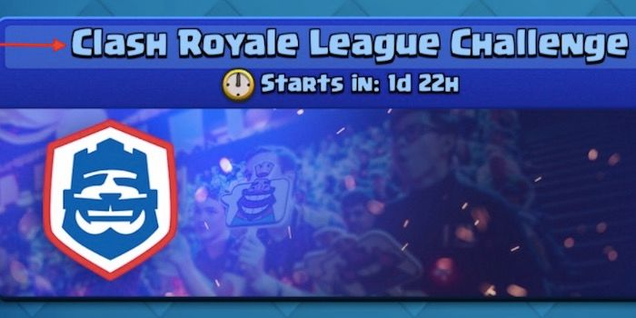 Nuevo Desafio de la Clash Royale League