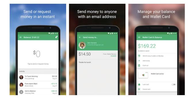 Nuevo Google Wallet para Android