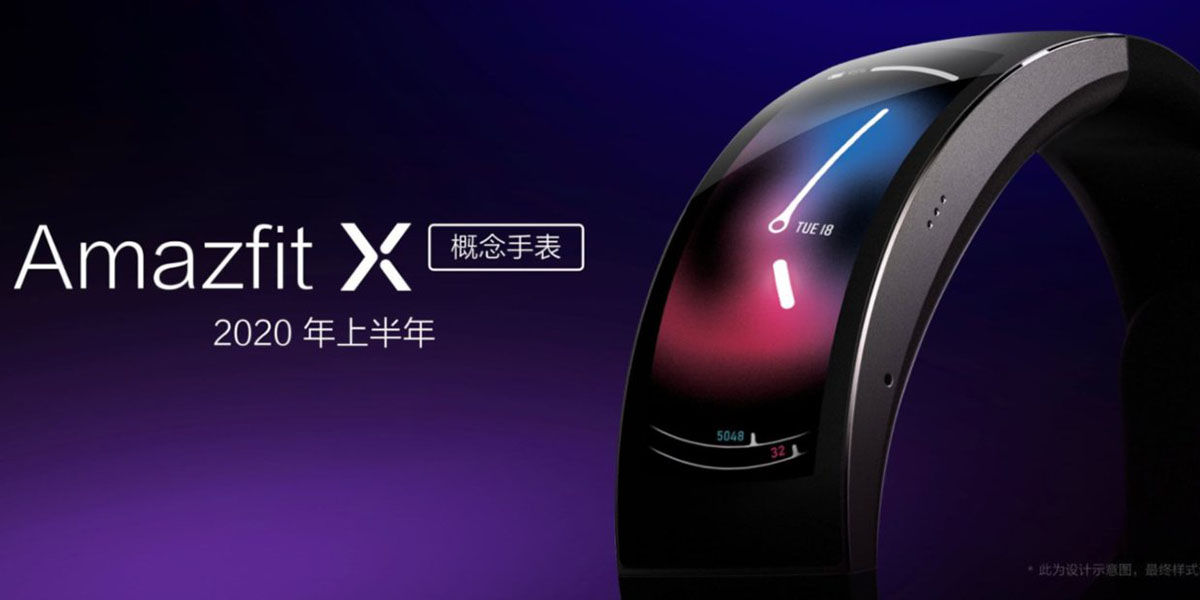 Nuevo Xiaomi Amazfit X reloj inteligente