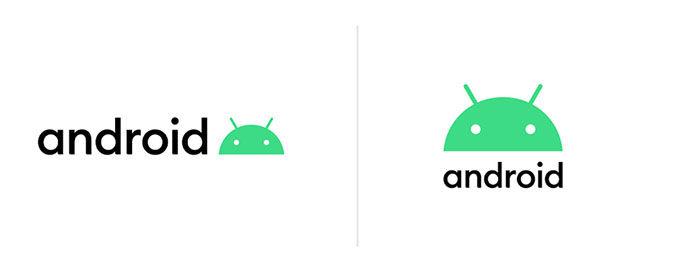 Nuevo logo de Android 10