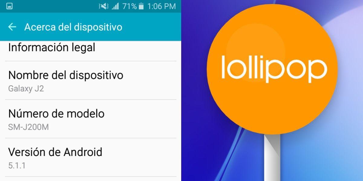 Android 5 para móviles viejos