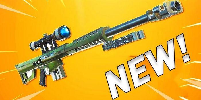 Nuevo rifle francotirador Fortnite