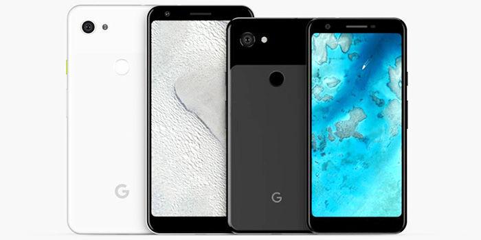 Nuevos diseños Pixel 3 Lite y Lite XL